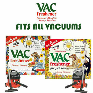 Vac Disc Hoover Vacuum Cleaner Air Freshener Discs For Pet Lovers Home Office
