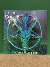 Vital Remains - Forever Underground LP Limited Edition, Numbered #793 (France)