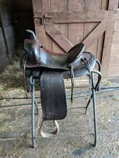 "14"" JC Higgens Western Saddle"