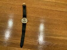 Panasonic Mobile Electronics Wrist Watch By Logo Timepieces 18 K Gold Plated