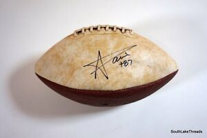 Andre' Davis Cleveland Browns Autographed Limited Edition Football Virginia Tech