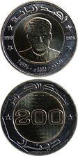 ALGERIEN/ALGERIA 200 Dinars 2020 (2021) UNC 'Ahmed Zabana (1926-1956)' Bimetall
