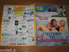 TV SORRISI E CANZONI=1998/31=BARBARA D'URSO=PAOLA BARALE=GIANNI SPERTI=