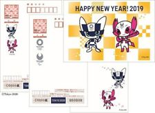 2020 Tokyo Olympic Game Character New Year card Complete 3 Types LTD Post Card