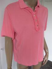Peter Hahn traumhaftes Shirt Gr  44 kurzarm rosa