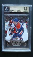 2010-11 Upper deck Taylor Hall young guns BGS 9.5 with high subs 10 10...