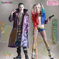 Crazy Toys Suicide Squad Joker Harley Quinn 1/4 Scale Figure Model 43cm
