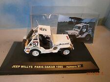 JEEP WILLYS 1/43 RALLYE RAID PARIS DAKAR 1980 LOIS MIDLAND