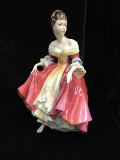 "VTG Royal Doulton Crinoline Lady Figure: ""Southern Belle"" 8"" Tall"