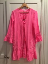 Lilly Pulitzer Tallulah Coverup Tiki Pink S