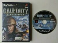 Call of Duty: Finest Hour PlayStation 2 PS2  Game  Tested Works