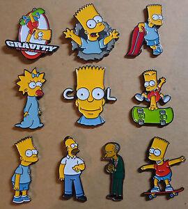 The Simpsons / Die Simpson Pins - Bart, Homer, Maggie, Mr. Burns zur Auswahl