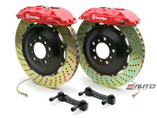 Brembo Front GT Big Brake 4Pot Caliper Red 355x32 Drill Disc FJ Crusier 07-13