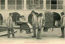 Carte BOURBON LANCY La Chaise au Porteur