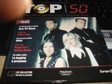 TOP 50 collection officielle-album 1993  ACE OF BASE  en couverture