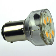 24 SMD LED Lampe BA-15D für Positionsleuchte Lampeneinsatz  Boot Schiff BA15 D