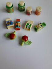 Playmobil nourriture cuisine , supermarché épicerie