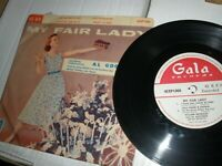 "My Fair Lady Al Goodman Lola Fisher Broadway Cast 7"" EP Gala Records 45XP1000"