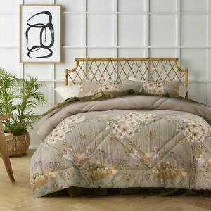 Elisa Cream Printed 3 Piece Comforter Set by Big Sleep