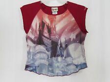 Walt Disney World Women's Large Sleeveless Shirt Mickey Ears and Castle Image
