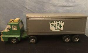 Vintage 70's Kuhn's Big K Store. Nashville / Columbia TN. Metal ERTL Semi Truck