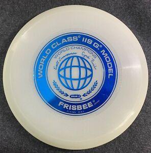 Wham-o Frisbee WCF Glow 119G Rare