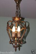 gorgeous louis xv rococo chateau chic 2 lights gilt bronze lantern chandelier