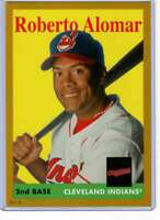 Roberto Alomar 2019 Topps Archives 5x7 Gold #7 /10 Indians