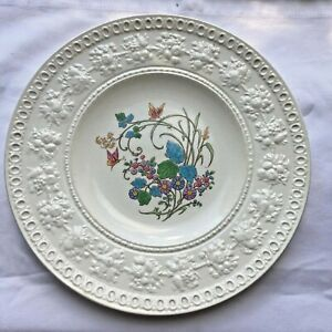 Wedgwood WELLESLEY Etruria & Barlaston PLATE Montreal Patent USA Decorated