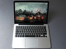 """Apple MacBook Pro 13"""" 2.6ghz i5 Rétine 500 Go SSD 115 Ladezyklen neuve 2014"""