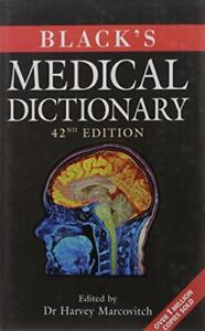 Black's Medical Dictionary Hardback Book The Cheap Fast Free Post
