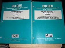 SERVICE MANUALS HOLDEN VP and VQ SERIES II - 8 Volumes