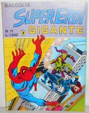 RACCOLTA SUPEREROI GIGANTE 11 (Devil 8 L'Uomo Ragno 41 Eterni 2) (Corno 1984)