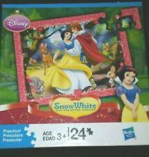 """2003 Disney/Hasbro Princess Snow White  24 piece Puzzle  New 10"""" x 13""""."""
