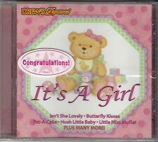 BABY SHOWER Drew's Famous IT'S A GIRL Party Music Lullaby Nursery NEW SEALED!