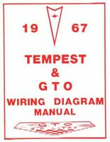 pontiac 1967 tempest & gto wiring diagram 67   ebay  ebay