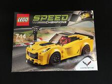 Lego 75870 Speed Champions Chevrolet Corvette Serie 2 Neu New OVP MISB