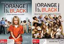 Orange Is The New Black : Season 1 & 2 : NEW DVD