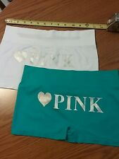 2  NWT love PINK Woman's or Men's Panty Boy Short Underwear. Stretchy & comfy
