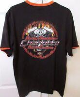 Harley Davidson Black Tee Shirt Charlotte NC Size Large