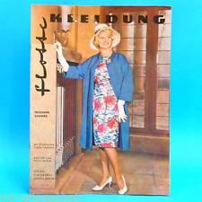 Flotte Kleidung   1962   Mode Verlag für die Frau   DDR Schnittbogen