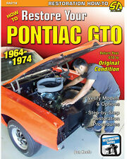 SA218P How to Restore Your Pontiac GTO 1964-1974 Engine Body Suspension Interior