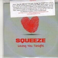 (DB232) Squeeze, Loving You Tonight - 2010 DJ CD