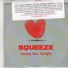 (DB232) Squeeze, Loving You Tonight - 2010 DJ CD