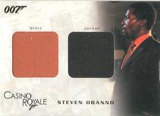 "James Bond In Motion - DC07 ""Obanno's Shirt & Jacket"" Relic Card #0840/1250"