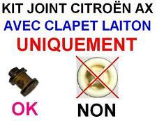 KIT AX 106 1.4D CLAPET EN MONTAGE LAITON 2 JOINTS + CLIPS + NOTICE PANNE FILTRE