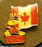 COCA COLA 1980 OLYMPIC PIN CANADA NICE NEW PIN