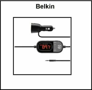 BELKIN TuneCast In-Car 3.5mm to FM Transmitter iPhone 6s Galaxy S9+ Note8 LG G6