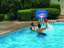 Poolmaster Basketball Hoop Goal For Swimming Pool Poolside Basket Ball Net Rim