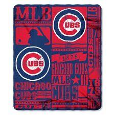 MLB Chicago Cubs 50 X 60 Fleece Throw